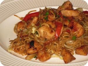 Chicken Chow Mein at DesiRecipes.com