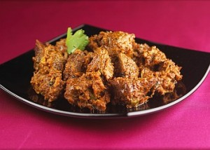 Fry Meat at DesiRecipes.com