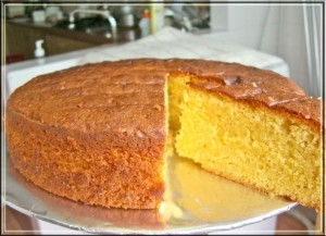 Butter Cake at DesiRecipes.com