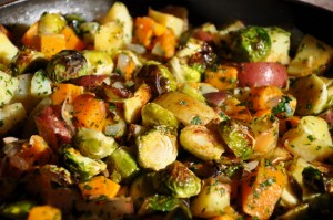 Spicy Vegetable Medley at DesiRecipes.com