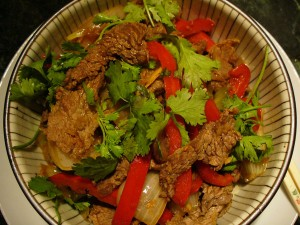 Kata Masala Gosht at DesiRecipes.com