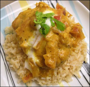 Yoghurt Chicken at DesiRecipes.com