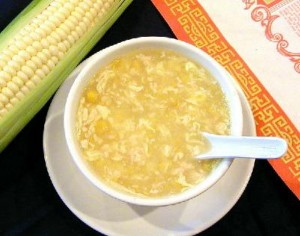 Easy Chicken Corn Soup