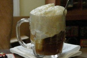 Foamy Ice Cream Soda at DesiRecipes.com