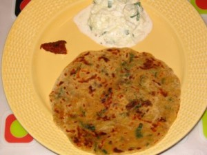 Arabic Paratha at DesiRecipes.com