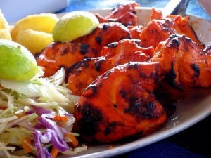 Spicy Chicken Tikka at DesiRecipes.com