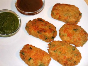 Cutlets at DesiRecipes.com