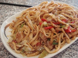 Stir Fry Noodles at DesiRecipes.com