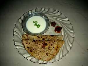 Aloo Paratha at DesiRecipes.com