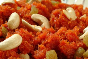 Carrot Halwa at DesiRecipes.com