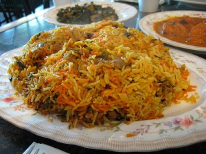 Basic Sindhi Biryani at DesiRecipes.com