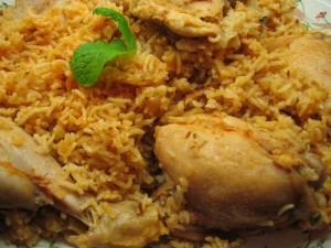 Mazedaar Chicken Biryani at DesiRecipes.com