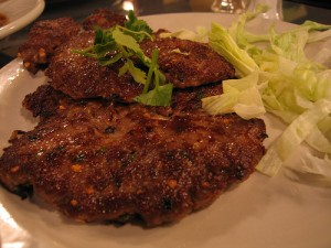 Chapli Kebab at DesiRecipes.com