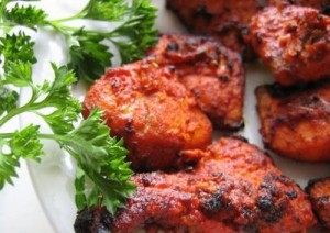 Sizzling Tandoori Fish at DesiRecipes.com