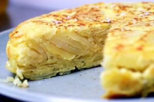 Spanish Ommlette at DesiRecipes.com