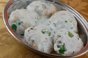 Dahi Balls at DesiRecipes.com