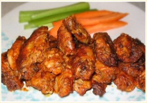 Buffalo Wings at DesiRecipes.com