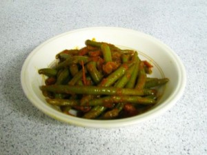 Green Beans Sabzi at DesiRecipes.com