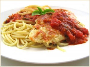 Chicken Parmesan at DesiRecipes.com