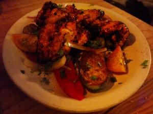 Chicken Shashlick at DesiRecipes.com