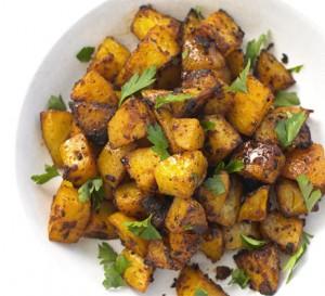 Spiced Potato Bites at DesiRecipes.com