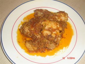 Tasty Karahi Chicken at DesiRecipes.com