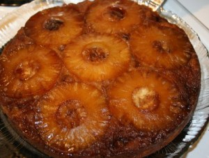 Pineapple Upside Down Cake at DesiRecipes.com