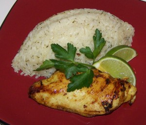 Quick Tandoori Chicken at DesiRecipes.com