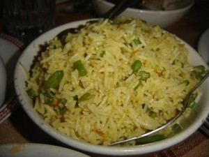Singaporian Rice at DesiRecipes.com