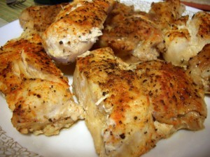Zesty Baked Chicken at DesiRecipes.com