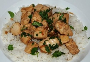 Black Pepper Chicken at DesiRecipes.com