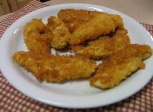 Chicken Breadcrumb Fingers at DesiRecipes.com