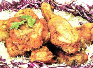 Dhuaan Chicken at DesiRecipes.com