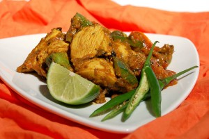 Chicken Jhal Frezi at DesiRecipes.com