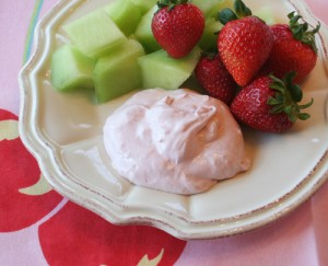 Fruit Flavoured Creamy Yogurt at DesiRecipes.com
