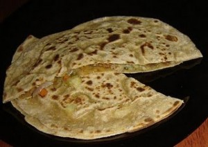 Yamni Paratha at DesiRecipes.com