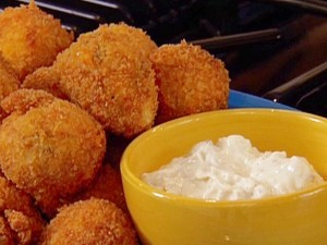 Cheese Chicken Balls at DesiRecipes.com