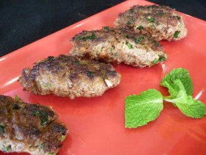 Chatpatay Chapli Kabab at DesiRecipes.com