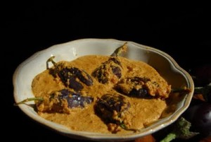 Baghara Begun (Eggplant) at DesiRecipes.com