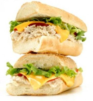 French Cole Slaw Sandwich