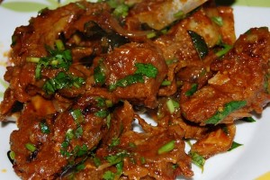 Dilpasand Mutton (Bhuna Gosht) at DesiRecipes.com