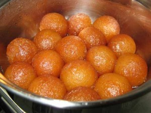 Easy Gulab Jaman at DesiRecipes.com