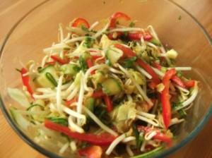 Thai Salad at DesiRecipes.com