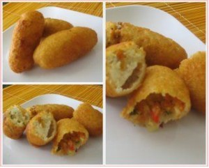 Spicy Potato And Bread Rolls at DesiRecipes.com