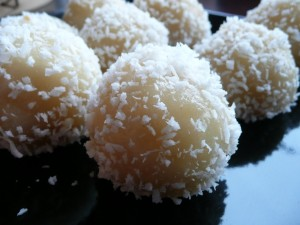 Coconut Balls at DesiRecipes.com