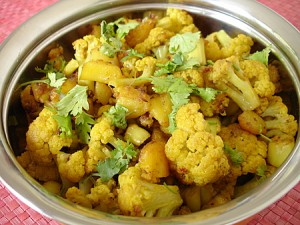 Aloo Gobi Masala at DesiRecipes.com