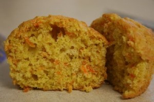 Sweet Yummy Orange Muffins at DesiRecipes.com