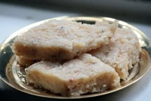 Akhrot Ki Mithai at DesiRecipes.com
