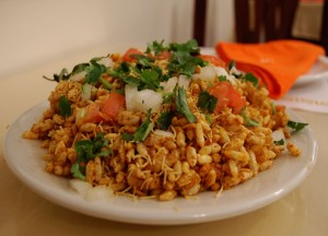 Bhel Puri at DesiRecipes.com