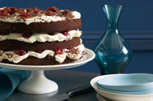 Black Forest Cake Without Baking at DesiRecipes.com